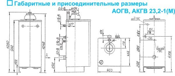 """газовый котел ОАО """""""